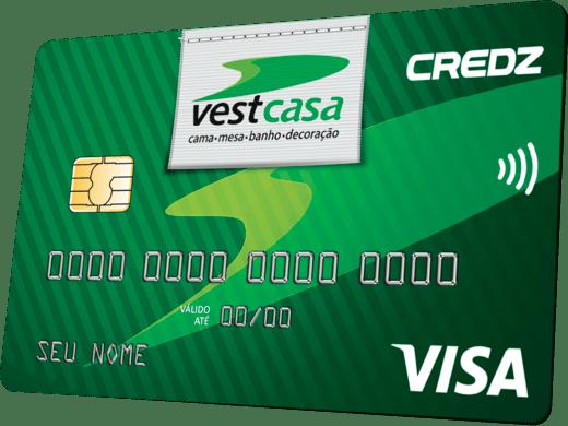 Cartão Vestcasa
